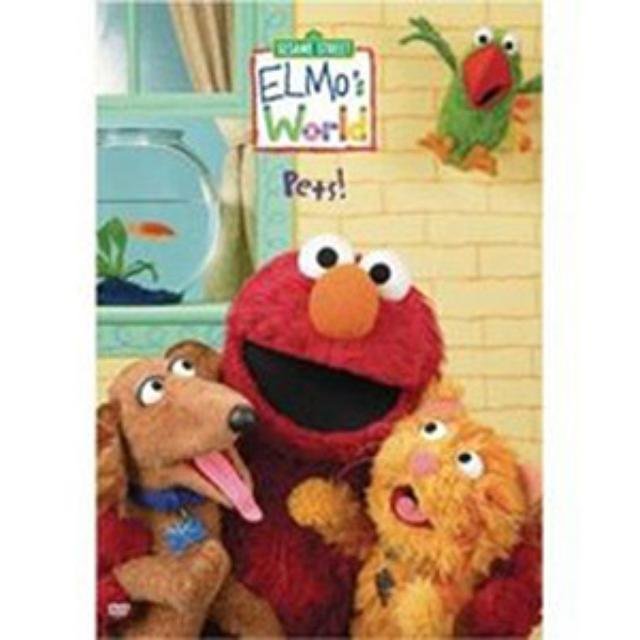 Sesame Street Elmo's World: Pets DVD