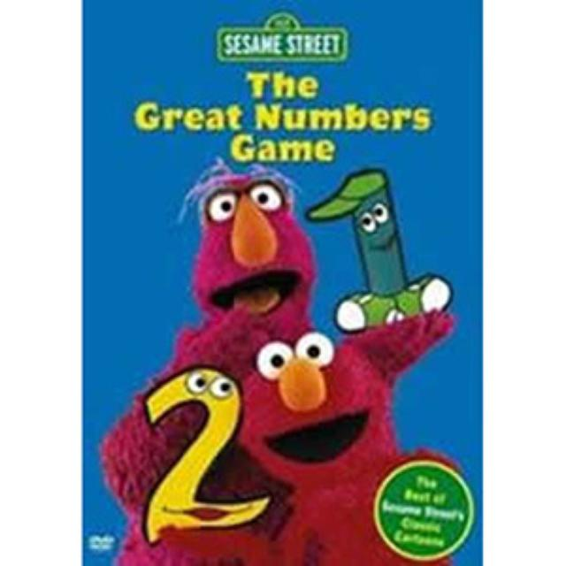 Sesame Street The Great Numbers Game DVD