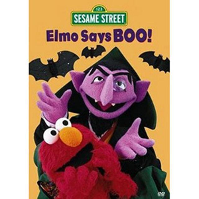 Sesame Street Elmo Says Boo DVD
