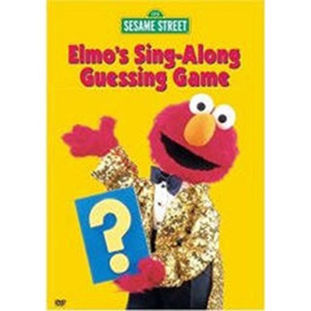 Sesame Street Elmo's Sing-Along Guessing Game DVD