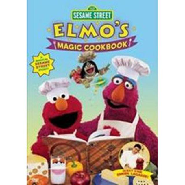 Sesame Street Elmo's Magic Cookbook DVD