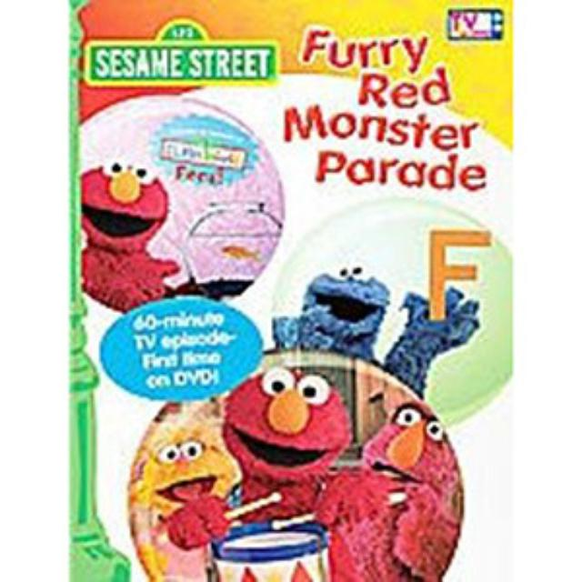 Sesame Street Furry Red Monster Parade DVD