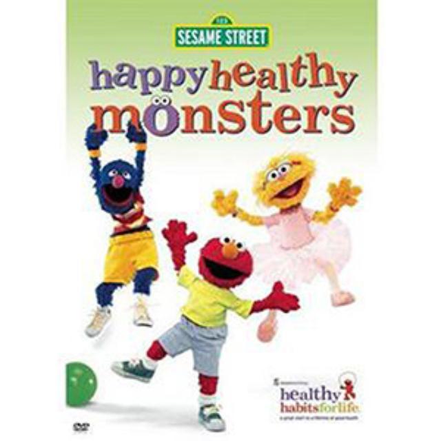 Sesame Street Happy Healthy Monsters DVD