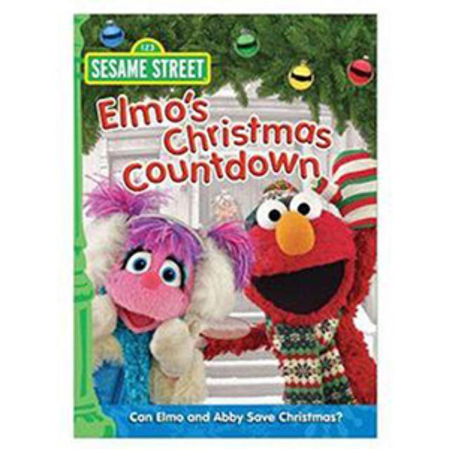 Sesame Street Elmo's Christmas Countdown DVD