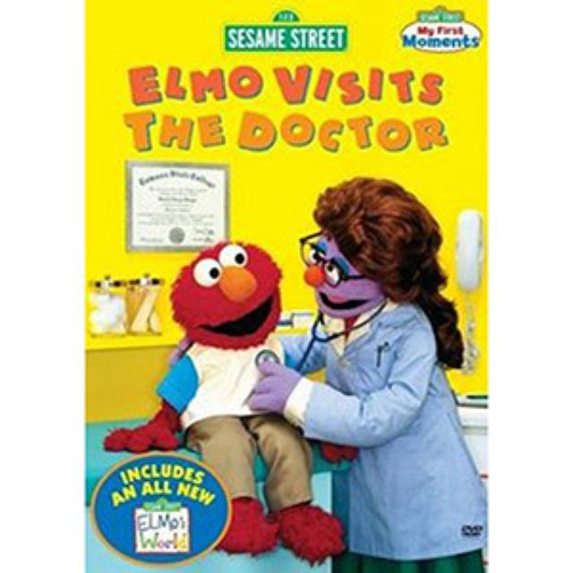 Sesame Street Elmo Visits the Doctor DVD