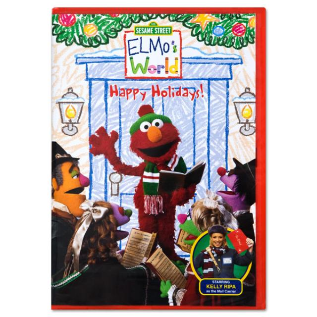 Sesame Street Elmo's World: Happy Holidays DVD