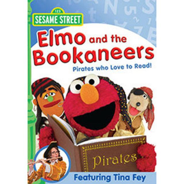 Sesame Street Elmo and the Bookaneers: Pirates Who Love To Read DVD