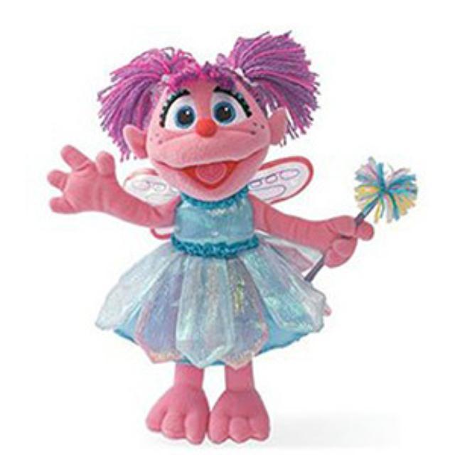 Sesame Street Abby Cadabby 12 Inch Plush