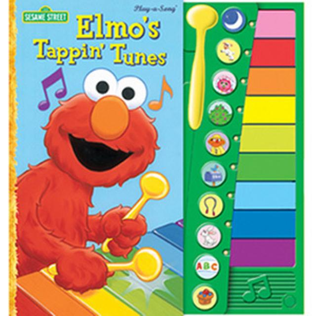 Sesame Street Elmo's Tappin Tunes Book