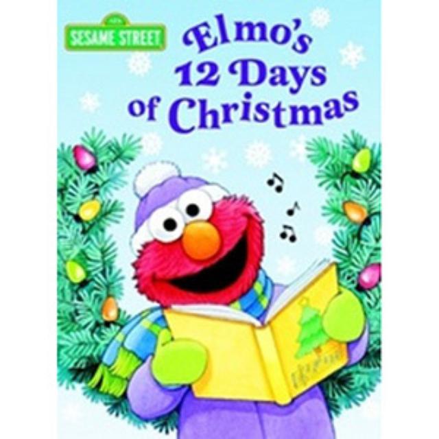 Sesame Street Elmo's 12 Days Of Christmas Book