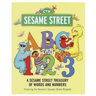 ABC & 123: A Sesame Street Treasury Book