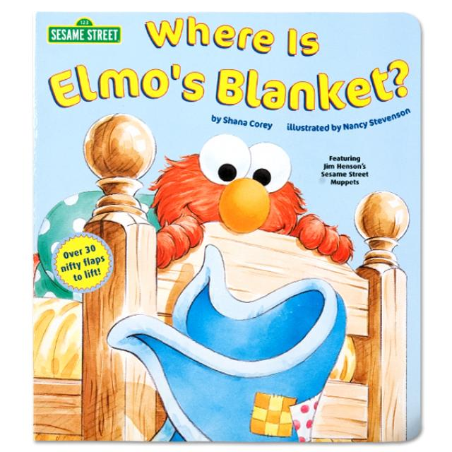 Sesame Street Where Is Elmo's Blanket? Book