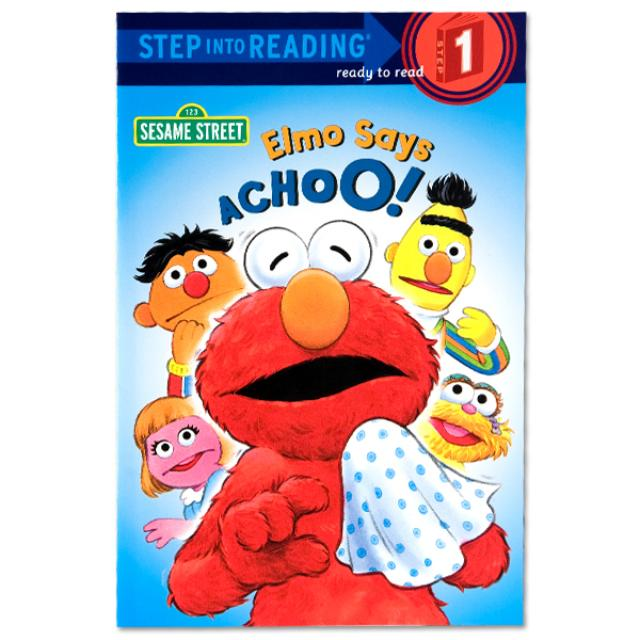 Sesame Street Elmo Says Achoo! Book