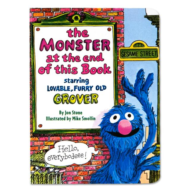 Sesame Street Monster At The End Of This Book