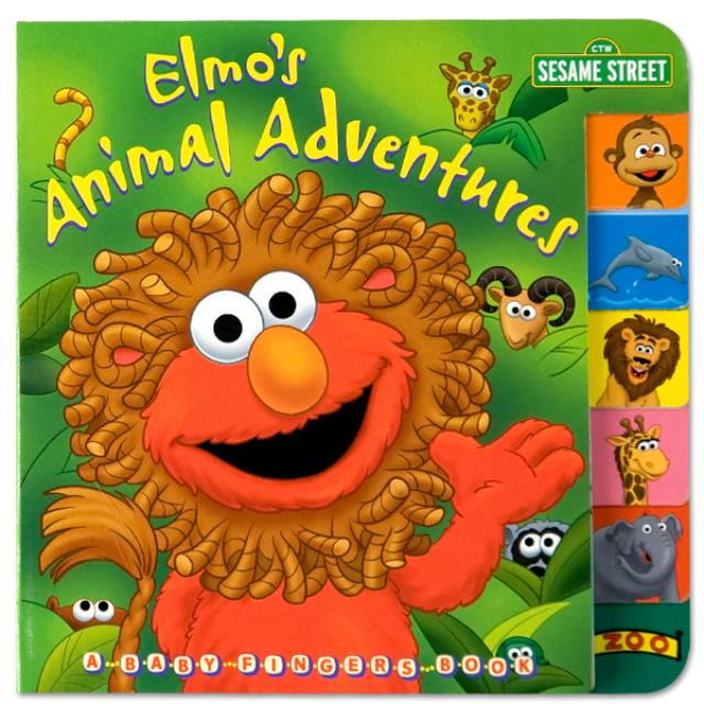 Sesame Street Elmo's Animal Adventures Book