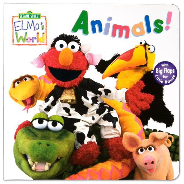 Sesame Street Elmo's World: Animals! Book
