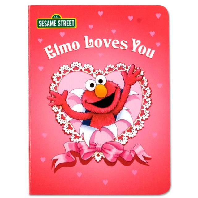 Sesame Street Elmo Loves You Book
