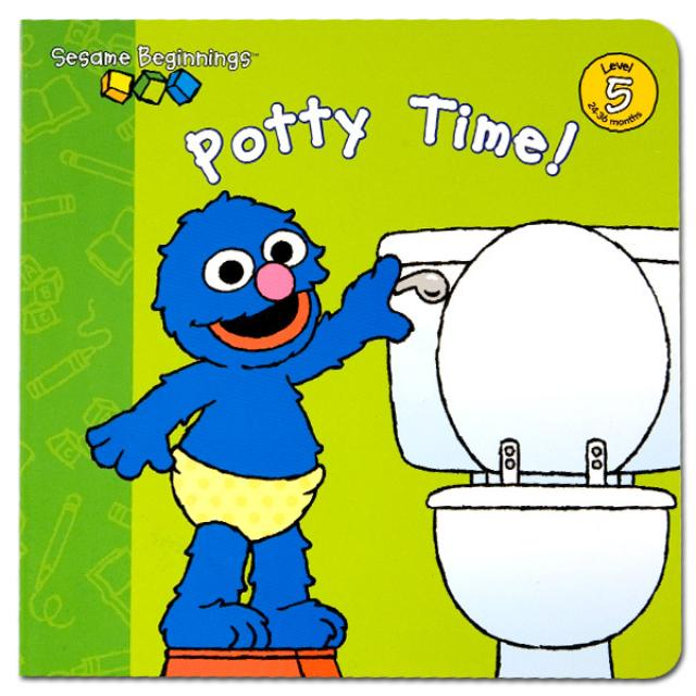 Sesame Street Sesame Beginnings: Potty Time! Book