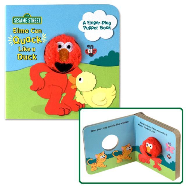 Sesame Street Elmo Can Quack Like A Duck Book