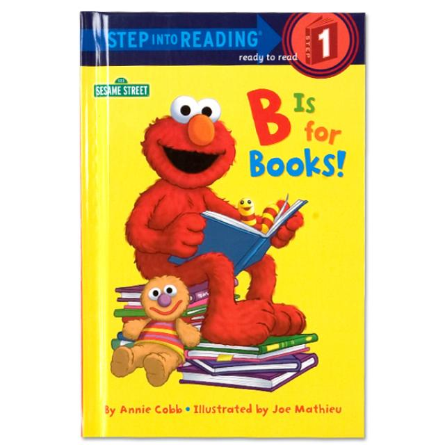 Sesame Street B Is For Books-Glb Book