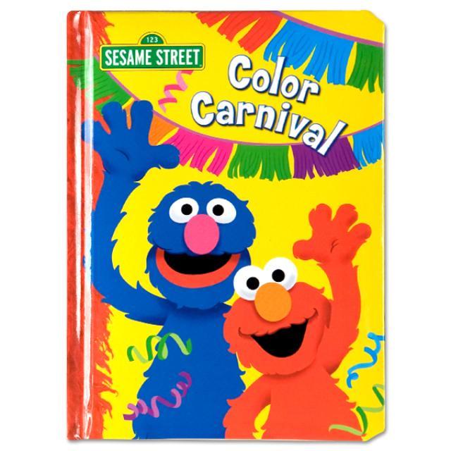 Sesame Street Color Carnival Book