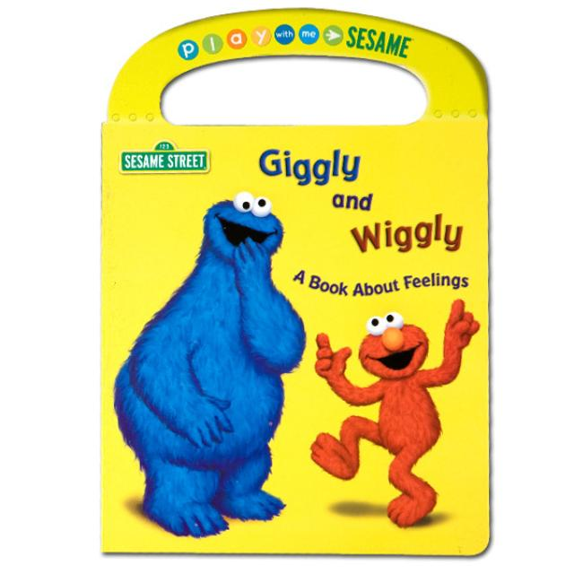 Sesame Street Giggly and Wiggly: A Book About Feelings
