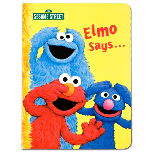Sesame Street Elmo Says Book