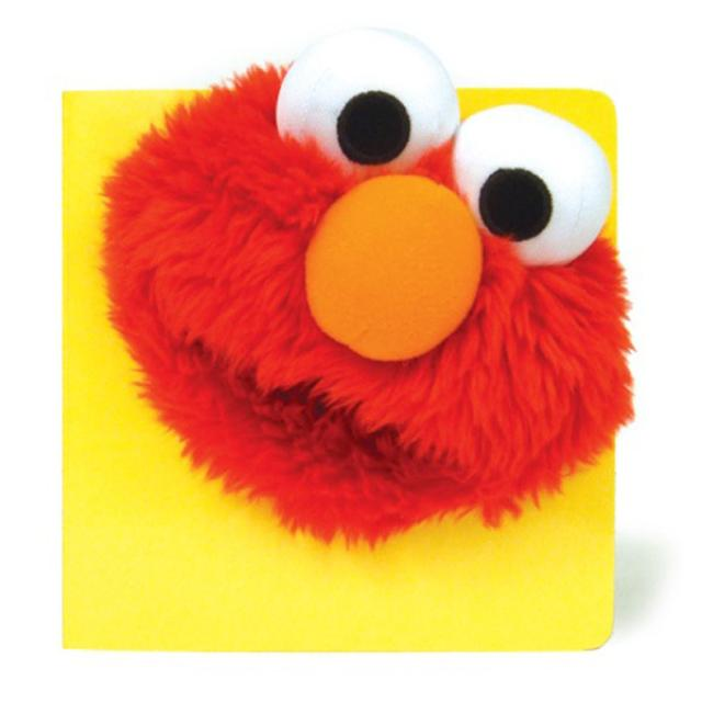 Sesame Street Furry Faces: Elmo! Book