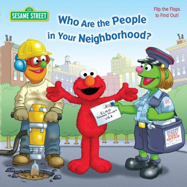 Sesame Street Who Are The People In Your Neighborhood? Book