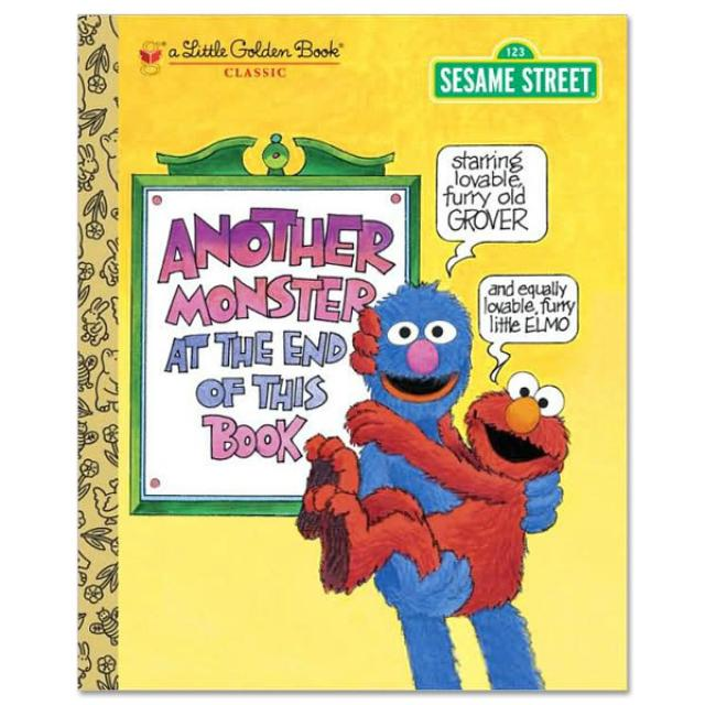 Sesame Street Another Monster At The End Of This Book - Golden Book