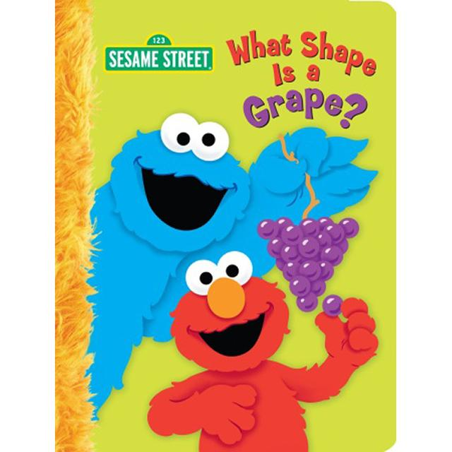 Sesame Street What Shape Is A Grape? Book