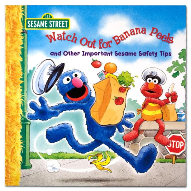 Sesame Street Watch Out for Banana Peels Book