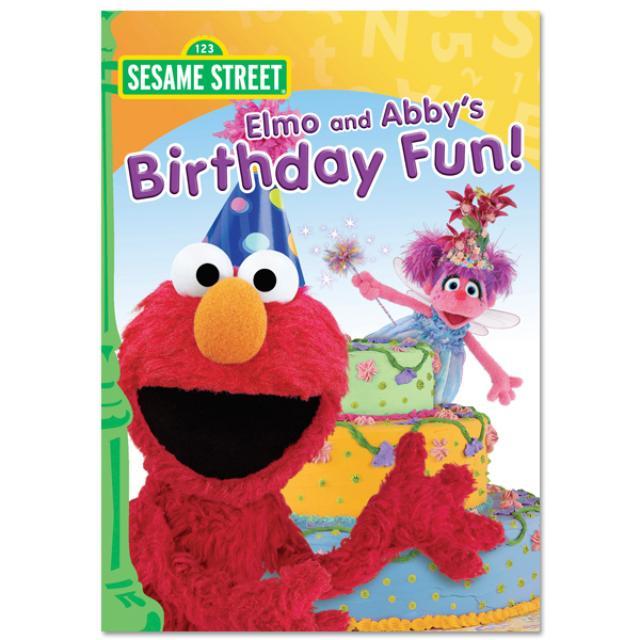 Sesame Street Elmo And Abby's Birthday Fun! DVD