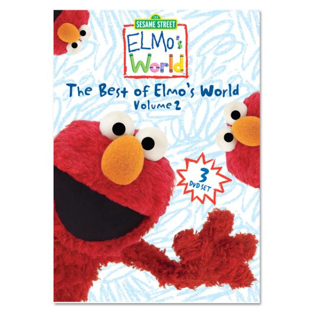 Sesame Street The Best Of Elmo's World, Vol. 2 DVD Collection