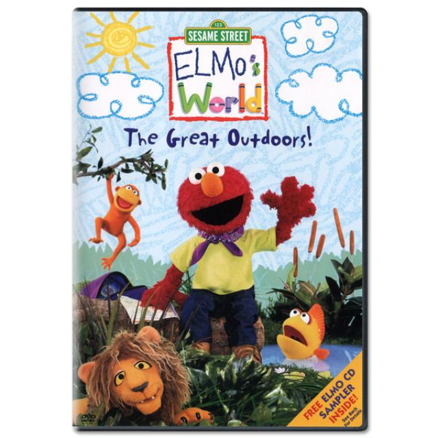 Sesame Street Elmo's World: The Great Outdoors DVD