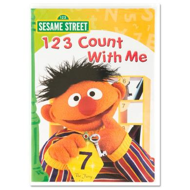 Sesame Street 1, 2, 3 Count With Me DVD