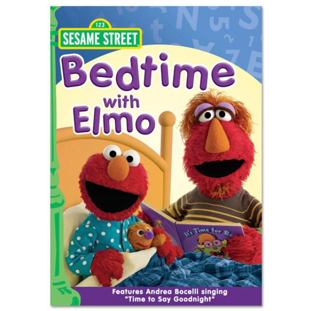 Sesame Street Bedtime With Elmo DVD