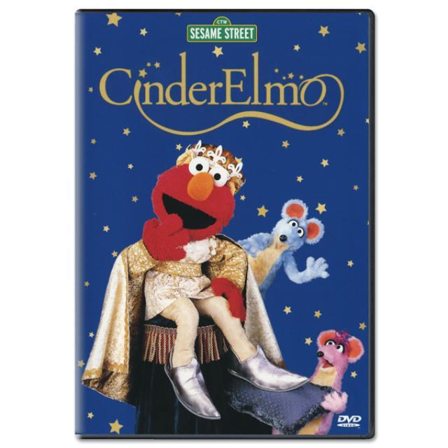 Sesame Street CinderElmo DVD