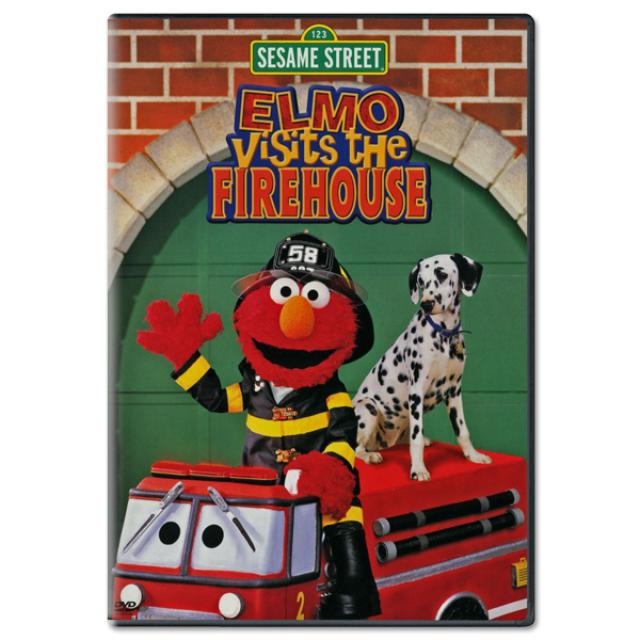 Sesame Street Elmo Visits The Firehouse DVD