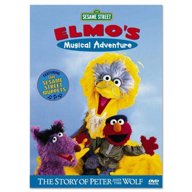 Sesame Street Elmo's Musical Adventure: Peter/Wolf DVD