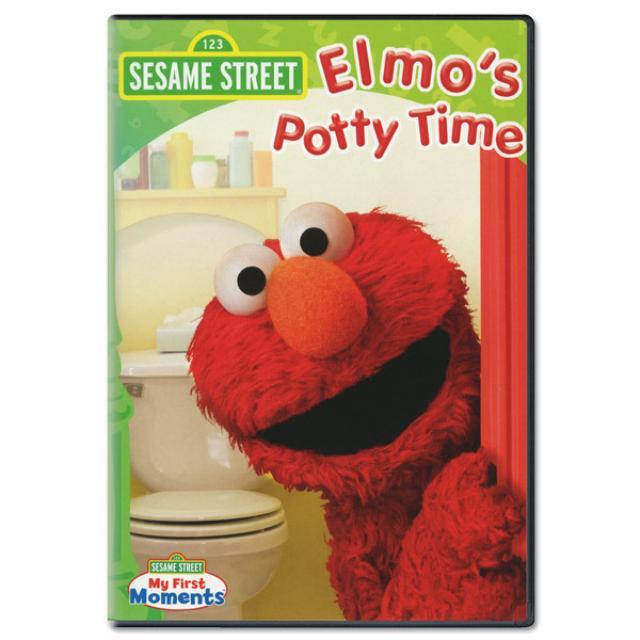 Sesame Street Elmo's Potty Time DVD