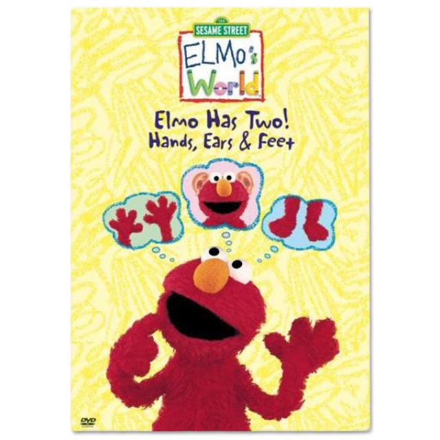 Sesame Street Elmo's World: Elmo Has Two! DVD