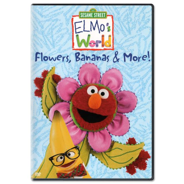 Sesame Street Elmo's World: Flowers, Bananas & More! DVD