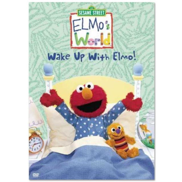 Sesame Street Elmo's World: Wake Up With Elmo! DVD