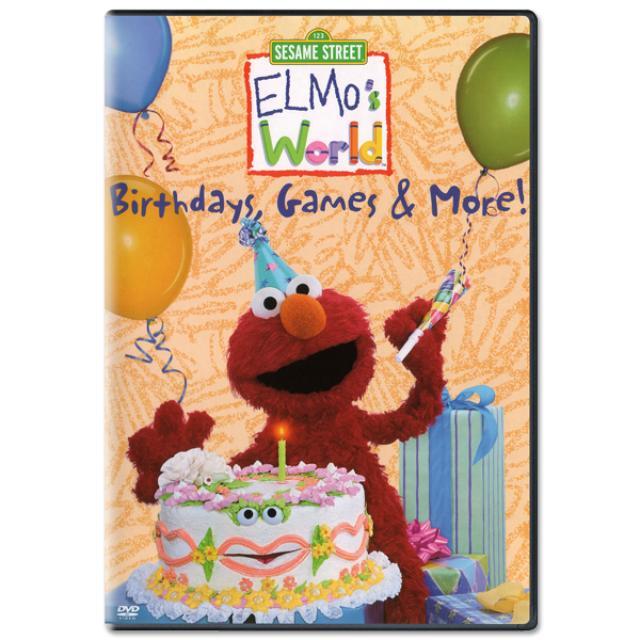 Sesame Street Elmo's World: Birthdays, Games & More DVD