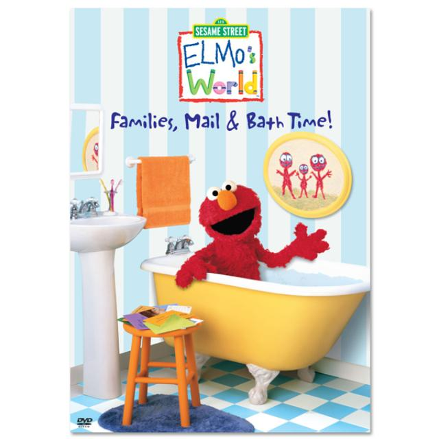 Sesame Street Elmo's World: Families, Mail & Bath Time! DVD