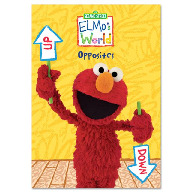 Sesame Street Elmo's World: Opposites DVD