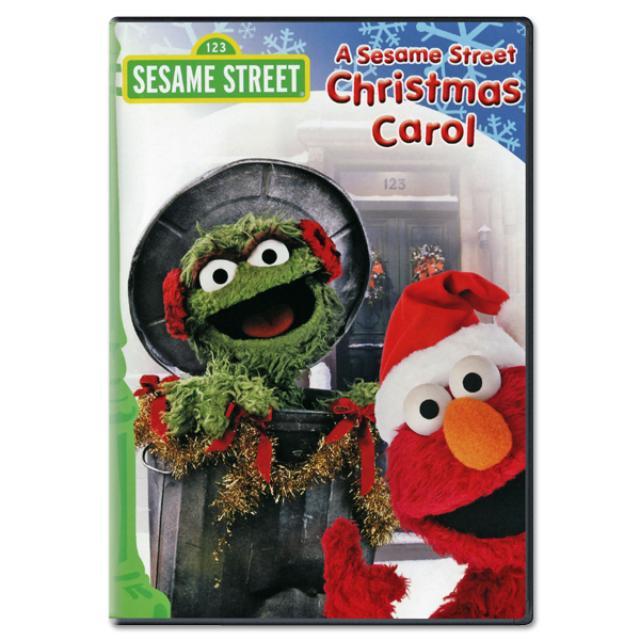 A Sesame Street Christmas Carol DVD