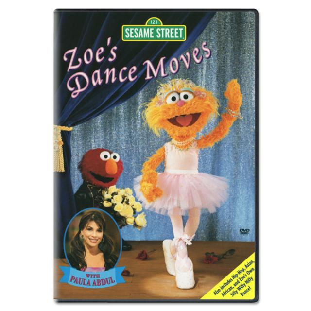 Sesame Street Zoe's Dance Moves DVD