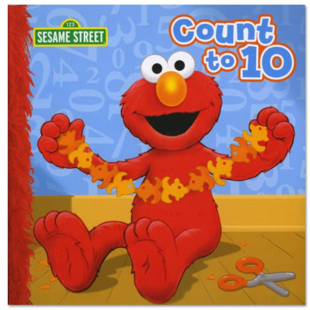 Sesame Street Count To Ten Book